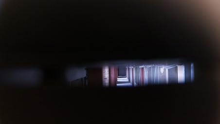 peeking in